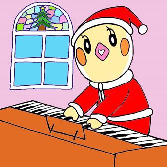 クリスマスソング ピアノ めぐ.jpg