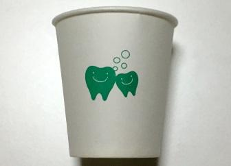 歯科 備え付けのコップ 歯のキャラクター かわいい 1.jpg