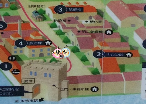 蒸留塔へ移動したピヨめぐモカ.jpg